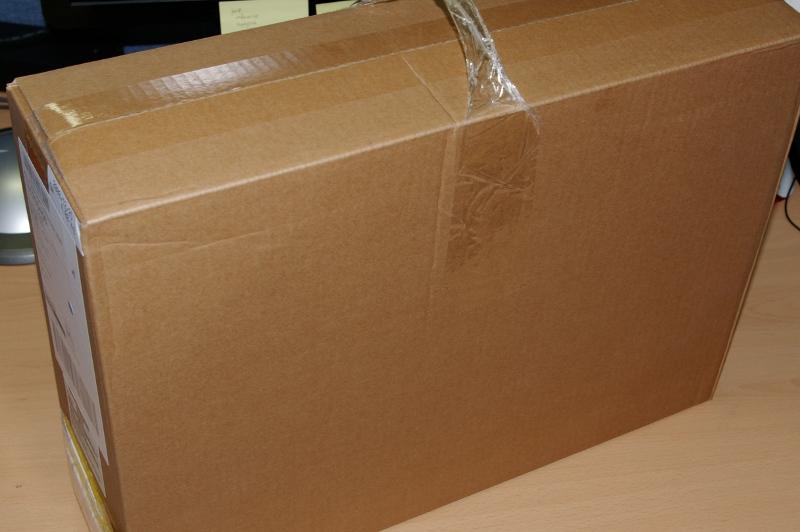 맥북 배송 박스